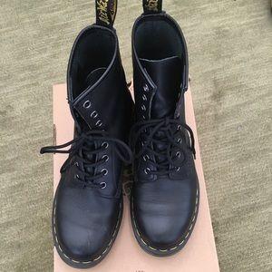 Dr Martens 1460 Napa black leather boots